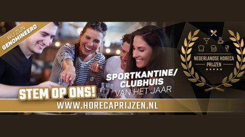CDW genomineerd voor Sportkantine van het jaar