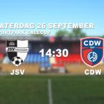CDW wint verdiend eerste competitieduel uit tegen JSV