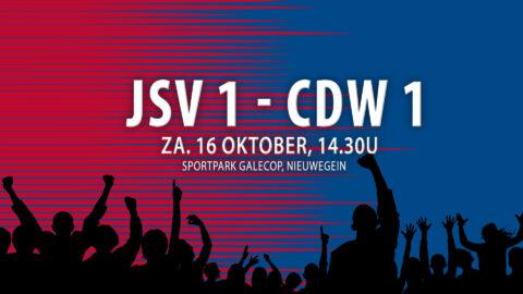 Voorbeschouwing JSV 1 – CDW 1