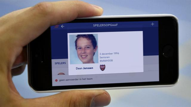 Zorg weer voor een correcte en herkenbare pasfoto op je spelerspas