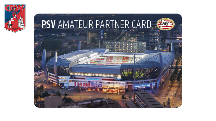 PSV Amateur Partner Card voor alle leden!