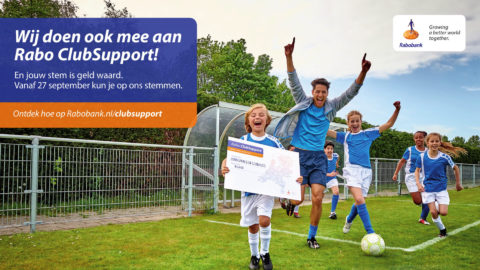 Rabo ClubSupport. Stemperiode is gestart!