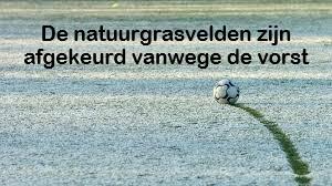 Natuurgrasvelden CDW afgekeurd voor trainingen en doordeweekse wedstrijden