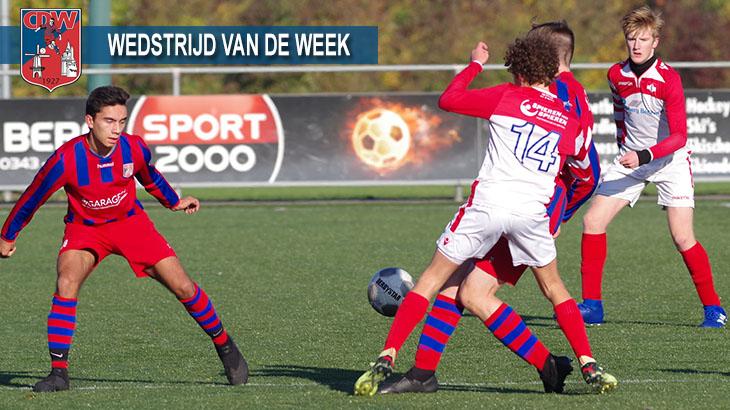 Wedstrijd van de week: CDW JO17-1 – Bilt De FC JO17-1