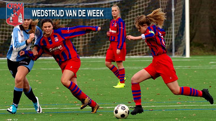 Wedstrijd van de week: FC Driebergen MO19-1 – CDW MO19-1