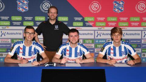 CDWer Dennis van Beek tekent bij SC Heerenveen