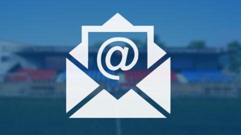Onjuiste email adressen
